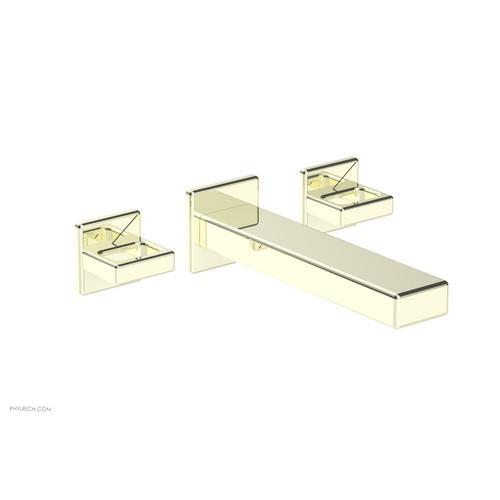 MIX Wall Lavatory Set - Ring Handles 290-13 - Burnished Nickel