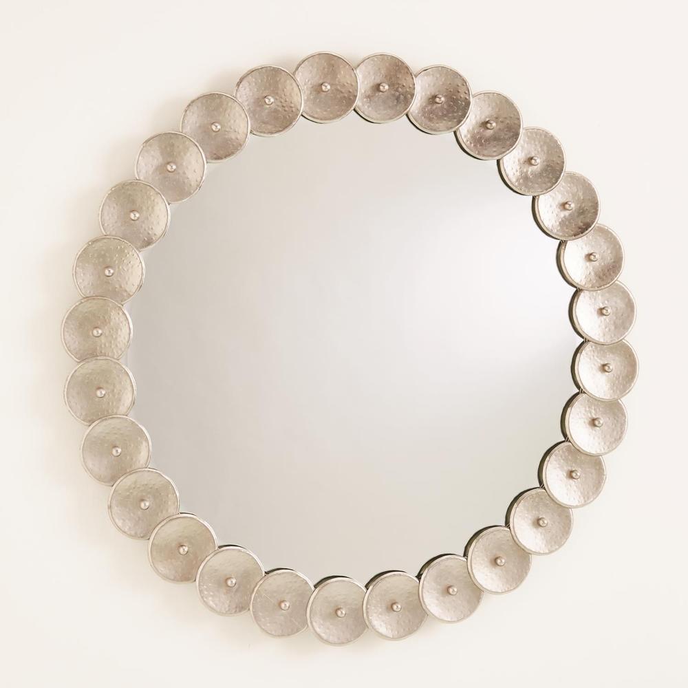 See Details - Shoe Buckle Mirror-Nickel