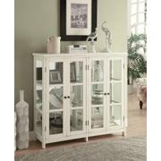 Transitional White Accent Cabinet Product Image