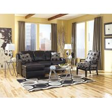 Sofa Chaise set  Devin DuraBlend - Black Collection