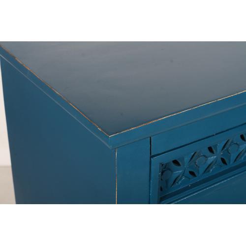 "Decker 48"" Console-blue"