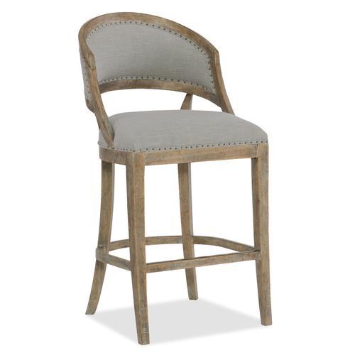 Hooker Furniture - Boheme Garnier Barrel Back Bar Stool