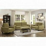 ACME Nate Loveseat - 50256 - Mustard Fabric Product Image