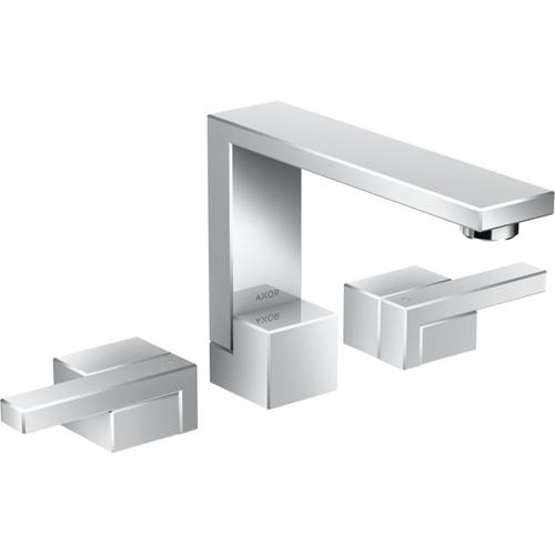 Chrome Widespread Faucet 130, 1.2 GPM