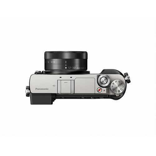 LUMIX GX85 4K Mirrorless Interchangeable Lens Camera Kit, 12-32mm Lens, 16 Megapixels, Dual Image Stabilization, Electronic Viewfinder, WiFi - Silver