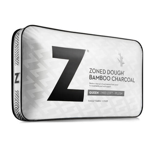 Zoned Dough® + Bamboo Charcoal King Mid Loft
