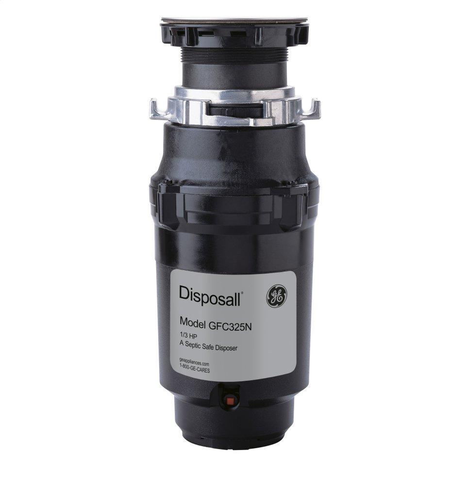 ®1/3 HP Continuous Feed Garbage Disposer - Corded
