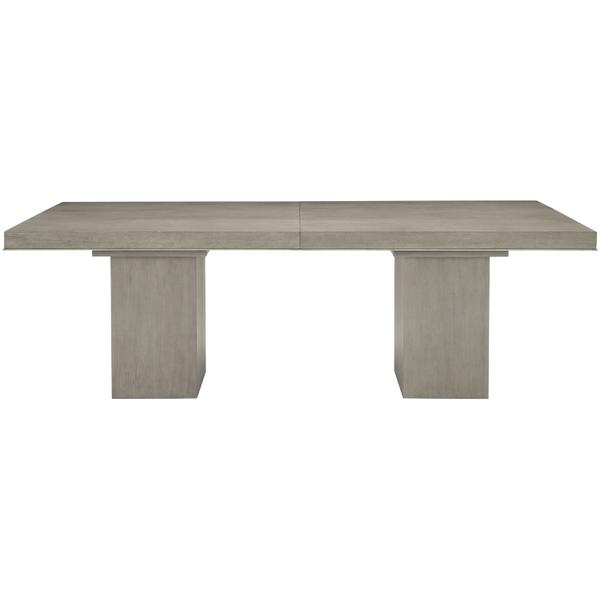 See Details - Linea Rectangular Dining Table in Cerused Greige (384)