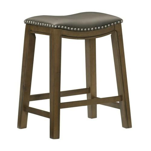 Gallery - 24 Counter Height Stool, Gray