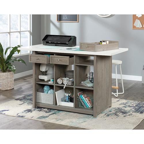 427456 In By Sauder In Mansfield Oh Durable Craft Work Table With Storage