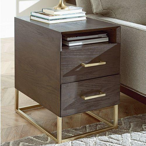 Essence Charging Chairside Table