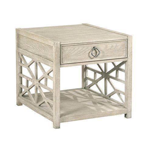 Vista Biscane Drawer End Table