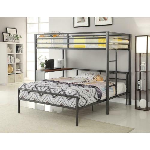 Metal Workstation Twin Loft Bed
