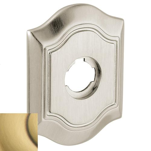 Baldwin - Satin Brass and Brown R027 Bethpage Rose