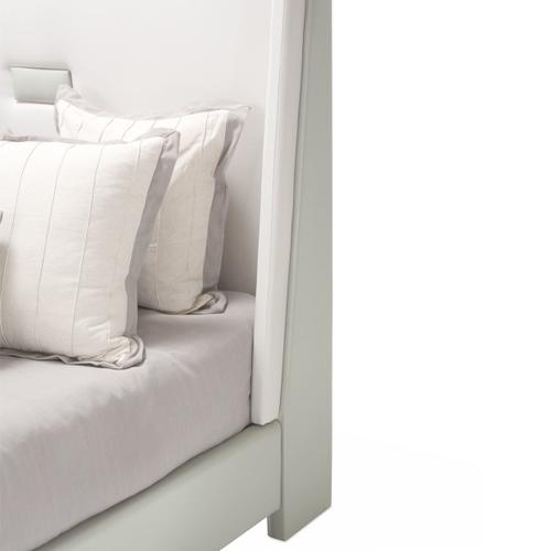 Amini - Cal King Upholstered Panel Bed (2 Pc)