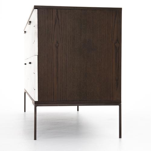 Bleached Yukas Finish Cuzco 4 Drawer Dresser