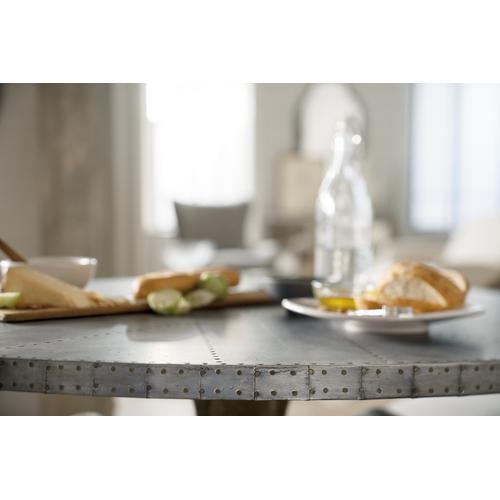 Hooker Furniture - Boheme Ascension 60in Zinc Round Dining Table