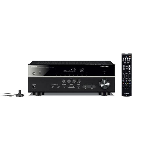 RX-V485 Black 5.1-Channel AV Receiver with MusicCast