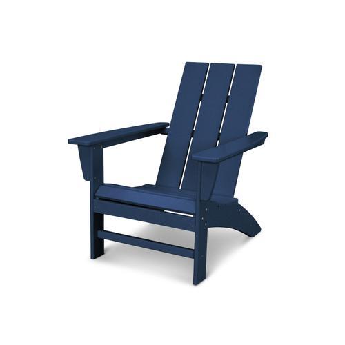 Navy Modern Adirondack Chair