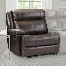 See Details - ECLIPSE - FLORENCE BROWN Power Left Arm Facing Recliner