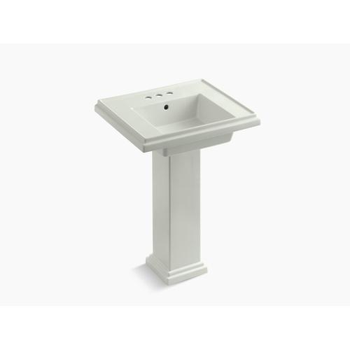 "Dune 24"" Pedestal Bathroom Sink With 4"" Centerset Faucet Holes"