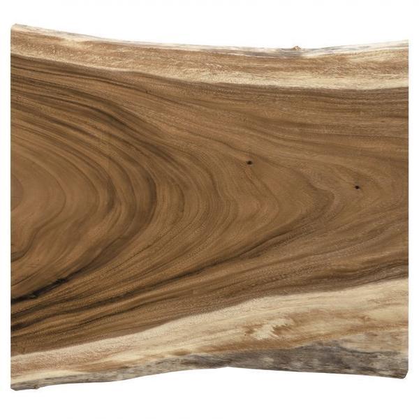 """See Details - Natural Guanacaste 48"""" Café Table Top"""