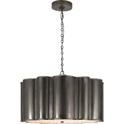 Alexa Hampton Markos 4 Light 26 inch Bronze Pendant Ceiling Light