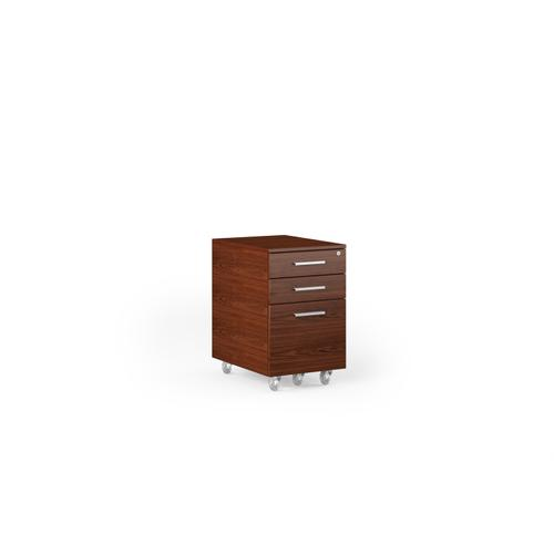 BDI Furniture - Sequel 20 6107 Mobile File Cabinet in Chocolate Stained Walnut