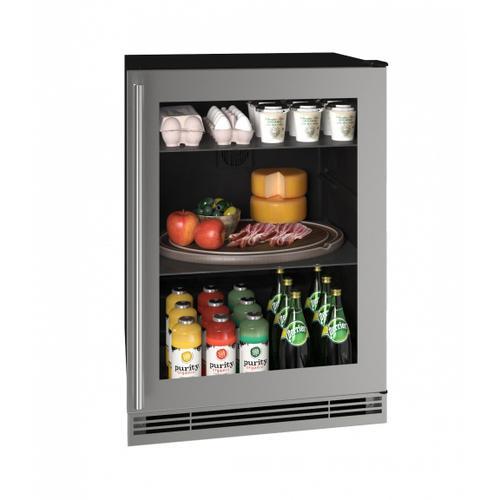 "Hre124 24"" Refrigerator With Stainless Frame Finish (115v/60 Hz Volts /60 Hz Hz)"