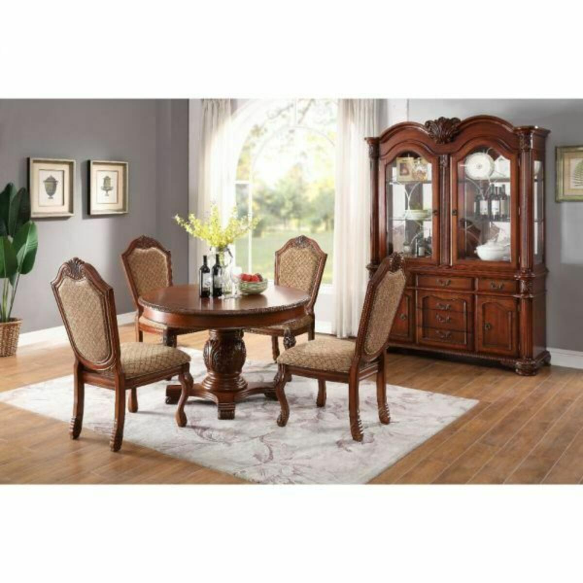 ACME Chateau De Ville Dining Table - 64170 - Cherry
