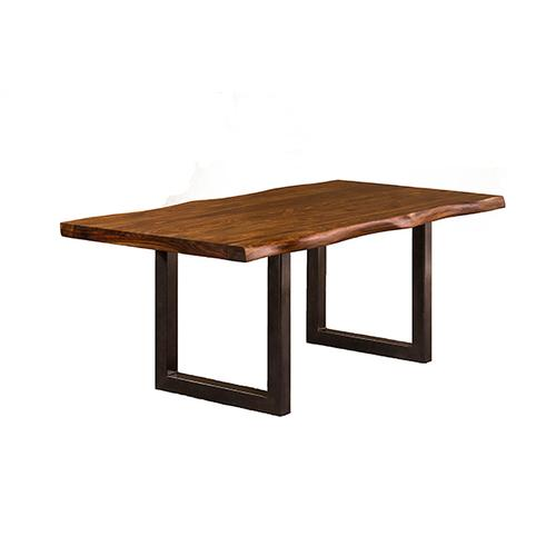 See Details - Emerson Rectangle Dining Table - Natural Sheesham