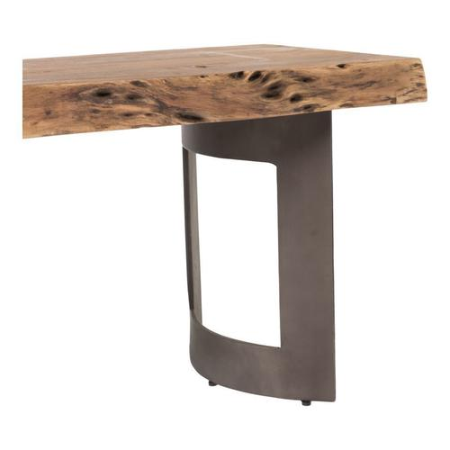 Moe's Home Collection - Bent Bench Small Smoked