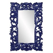 View Product - Augustus Mirror - Glossy Navy