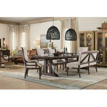See Details - Roslyn County Upholstered Dining Bench