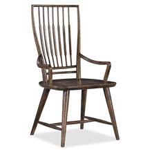 Dining Room Roslyn County Spindle Back Arm Chair - 2 per carton/price ea