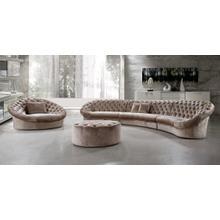 See Details - Divani Casa Cosmopolitan - Sectional Sofa, Chair and Ottoman