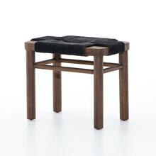 Matte Black Finish Shona Stool