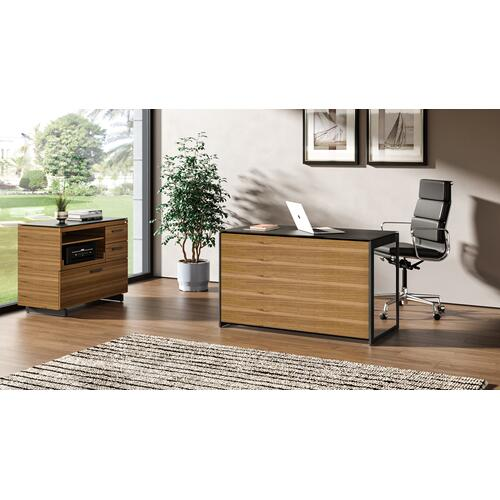 BDI Furniture - Sequel 20 6108 Compact Desk Back Panel in Natural Walnut