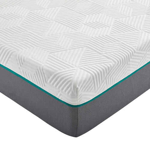 "Renue 10"" Medium Firm Hybrid Mattress in Box, Twin"