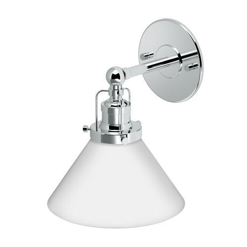 Cafe Lighting Sconces in Chrome