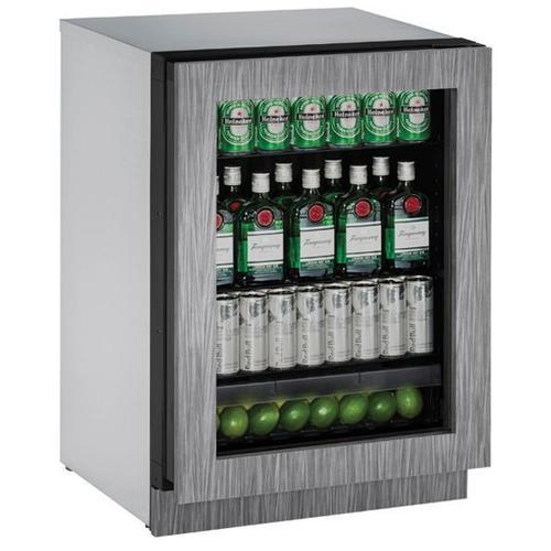 "U-Line - 2224rgl 24"" Refrigerator With Integrated Frame Finish (115 V/60 Hz Volts /60 Hz Hz)"