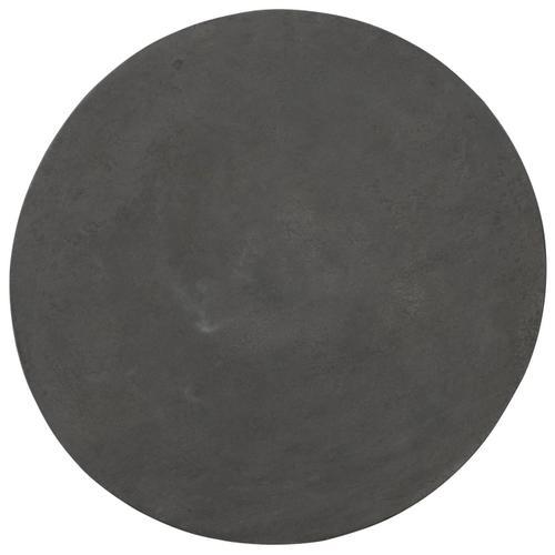 Canyon Ridge Round Metal Side Table in Basalt (397)
