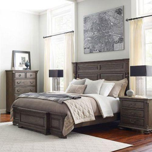 Greyson Logan King Panel Bed - Complete