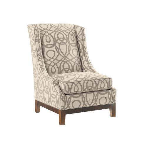 Ava Leather Wing Chair