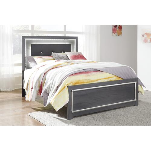 Lodanna - Gray 3 Piece Bed (Full)