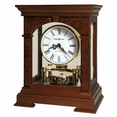 Howard Miller Statesboro Wooden Mantel Clock 635167