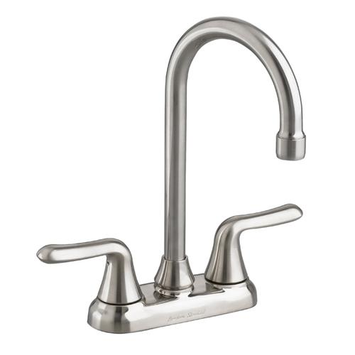 Colony Soft 2-Handle High-Arc Bar Sink Faucet  American Standard - Stainless Steel