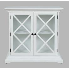 Carrington Accent Cabinet - White
