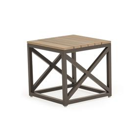 """761817ST 17.5"""" Square Stool with PoliSoul® Top"""