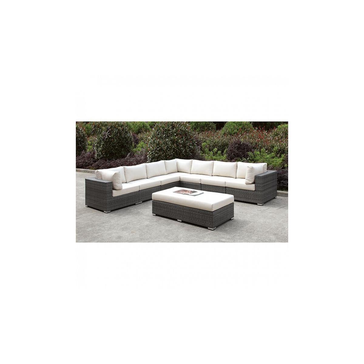 See Details - Somani Large L-sectional + Bench